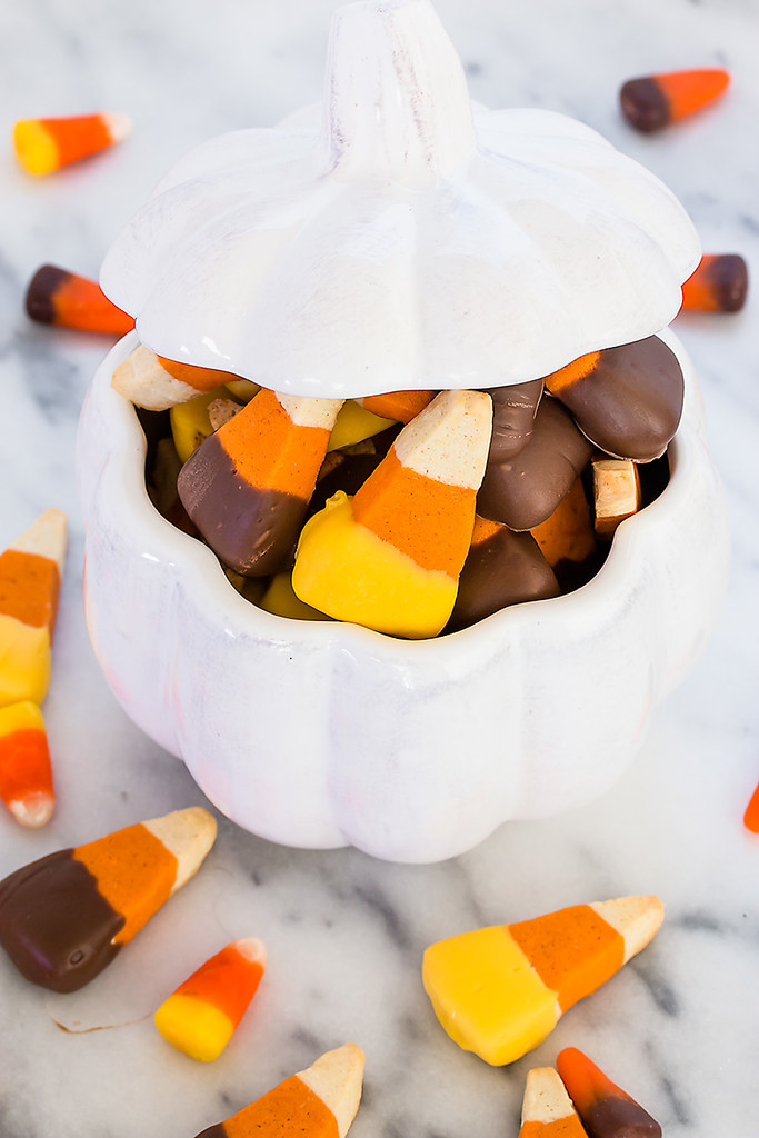 Candy Corn Sugar Cookie Recipe - a deliciously addictive festive fall sweet!
