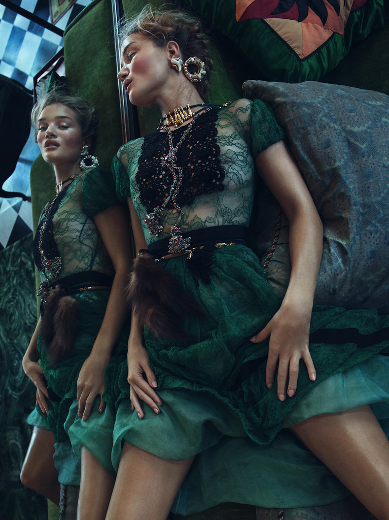 Роузи Хантингтон-Уайтли — Фотосессия для «Vogue» KR 2015 – 6
