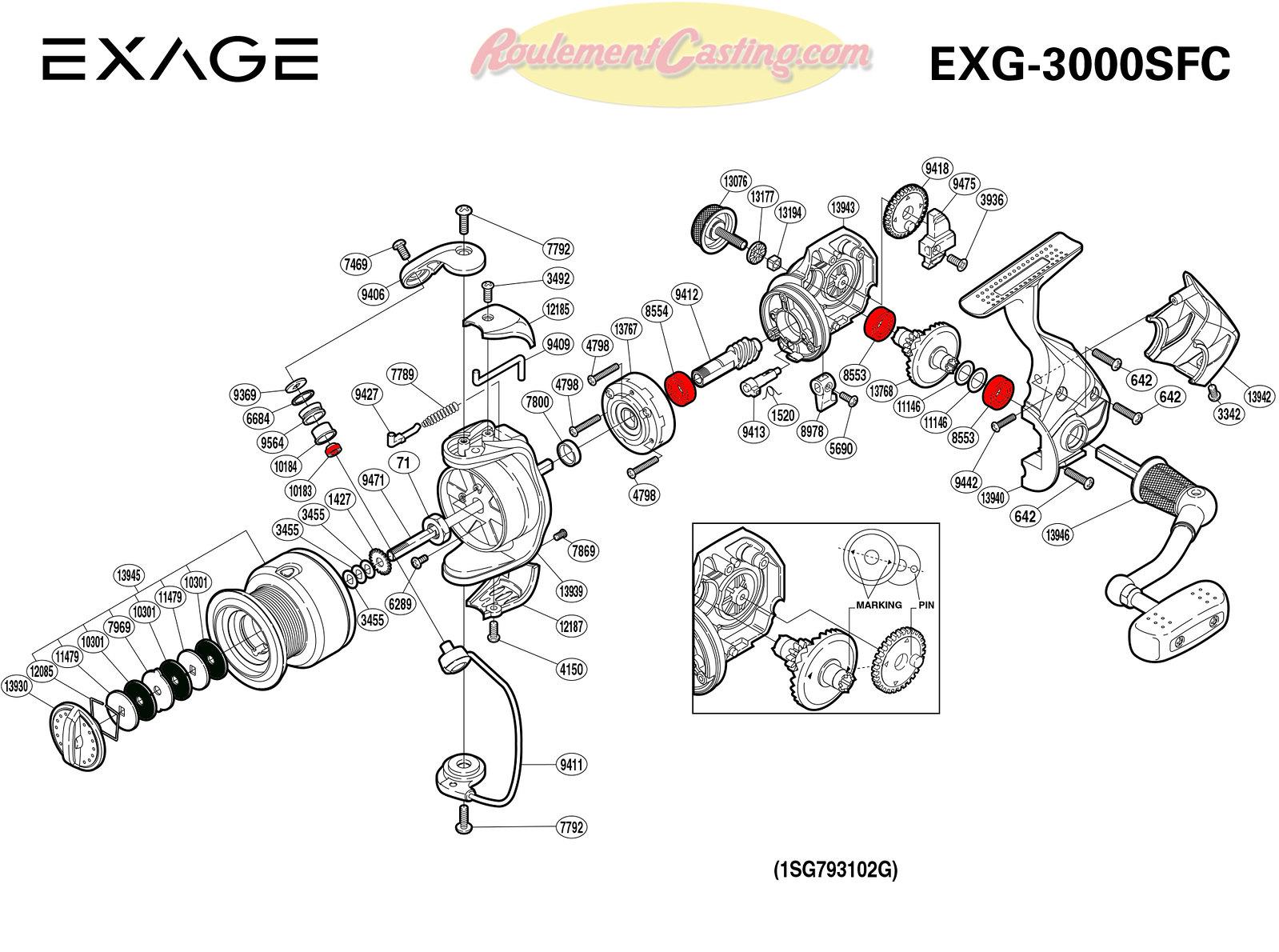 Schema-Shimano-EXAGE-3000SFC