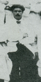 1912: Henry Page in a flat cap
