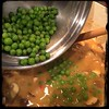 #homemade #ChickenALaKing #CucinaDelloZio - then the peas