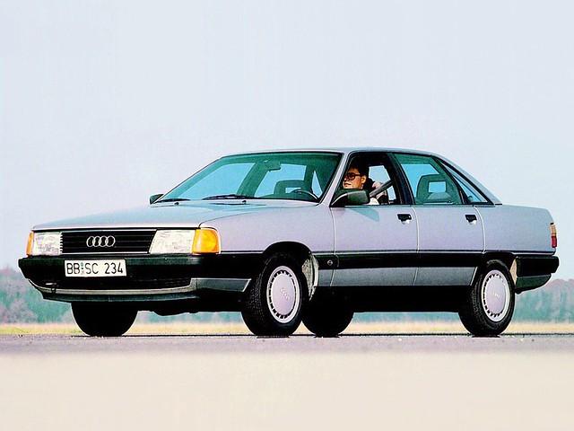 Седан Audi 100 (кузов С4). 1990 год