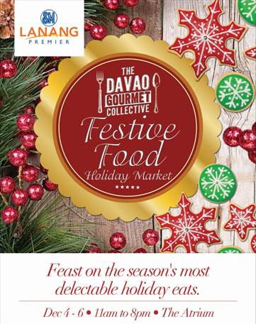 Davao Gourmet Collective Festive Food Holiday Market 2015