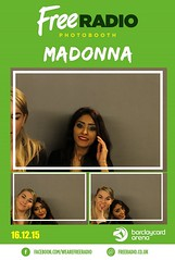 Madonna photobooth