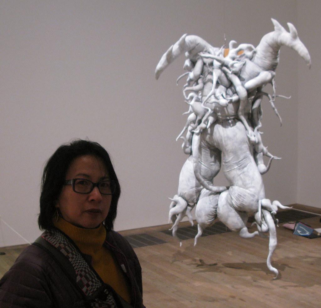Luisa at the Tate