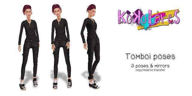 [KoKoLoReS] poses - Tomboi