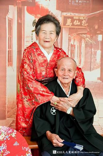 為爸媽圓夢 一起到高雄KISS九九麗緻婚紗拍紀念婚紗照_紀念婚紗照參考 (3)