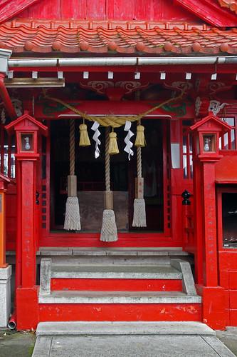 japan shrine inari kumamoto kyushu yatsushiro