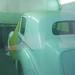 Bentley en cabine pour mise en peinture. Carrosserie inter-union - 53 route de suisse, 1295 Mies Tél.022 755 45 30 - Fax. 022 779 03 28 Site internet: www.interunion.ch