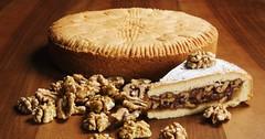 Švýcarský ořechový koláč