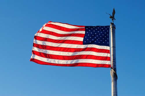 Where The Stars And Stripes And The Eagle Fly