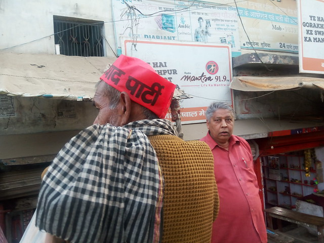 Nishad Party supporter
