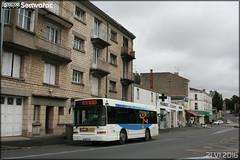 Heuliez Bus GX 117 - SEMTAN (Société d'Économie Mixte des Transports de l'Agglomération Niortaise) / TAN (Transports de l'Agglomération Niortaise) n°406