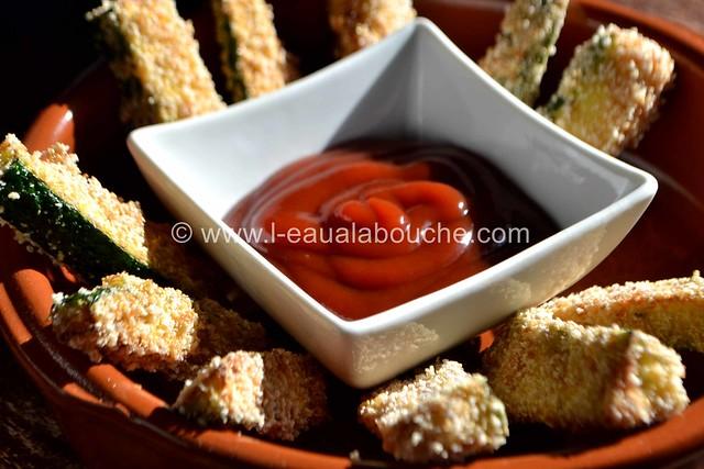 Frites de Courgettes © Ana Luthi Tous droits réservés