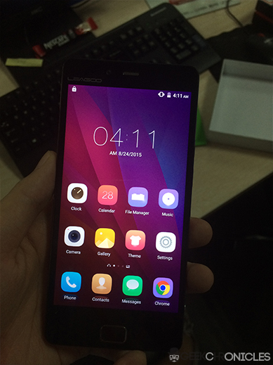 leagoo elite 1 screen