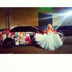M B F F . L ♡ V E  Just one more picture twirling and having fun at MERCEDES BENZ FASHION FESTIVAL with the gorgeous custom Vogue Mercedes! #swishy #tutu #MBFF10YEARS #ownit #australianfashion #mbff15 @mbffbrisbane @theatelier.au