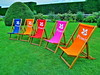 Southsea Deckchairs at Powis Castle! by Darling Starlings