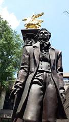Visit with Alexsandr Pushkin on George Washington University Campus