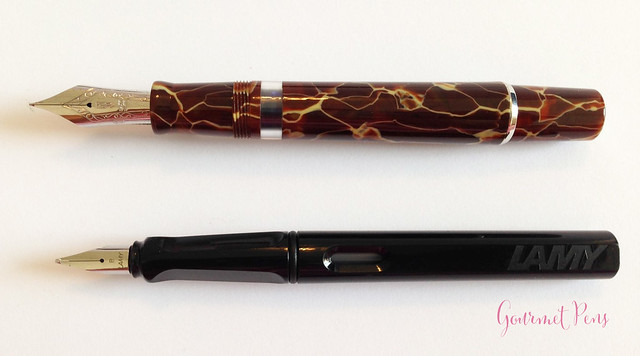 Review Delta Stantuffo Marmo Incrinato LE Fountain Pen @ChatterleyLux (3)