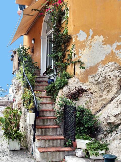 Villefranche steps  E30 117