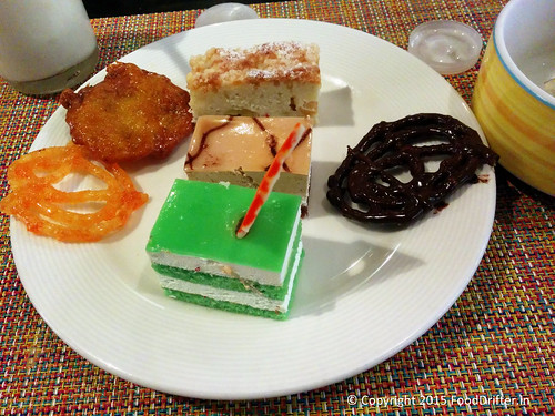 Desserts On A Plate