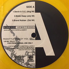 V.A.:FREESTYLE FRENZY VOL.2(LABEL SIDE-A)