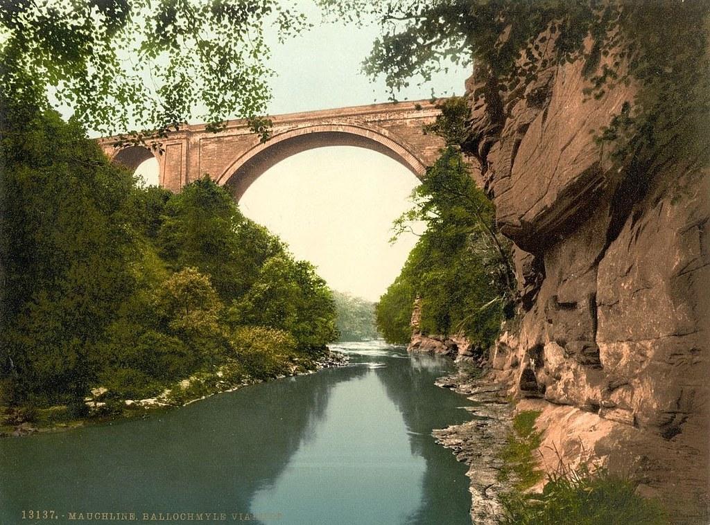 Ballochmyle Viaduct, Mauchline, Scotland