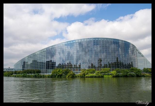 Alsacia Haguenau Estrasburgo - Palacio Europeo