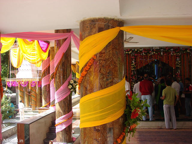 Decoration on Janmashtami