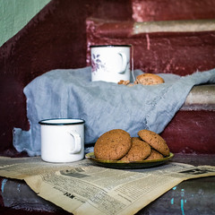 Cookies at the porch