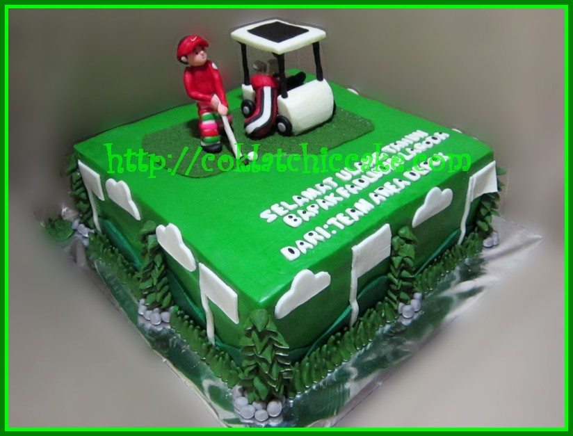 Cake Golf FADLUDIN Jual Kue Ulang Tahun