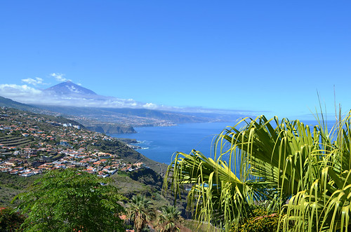 Mount Teide and north coast of Tenerife