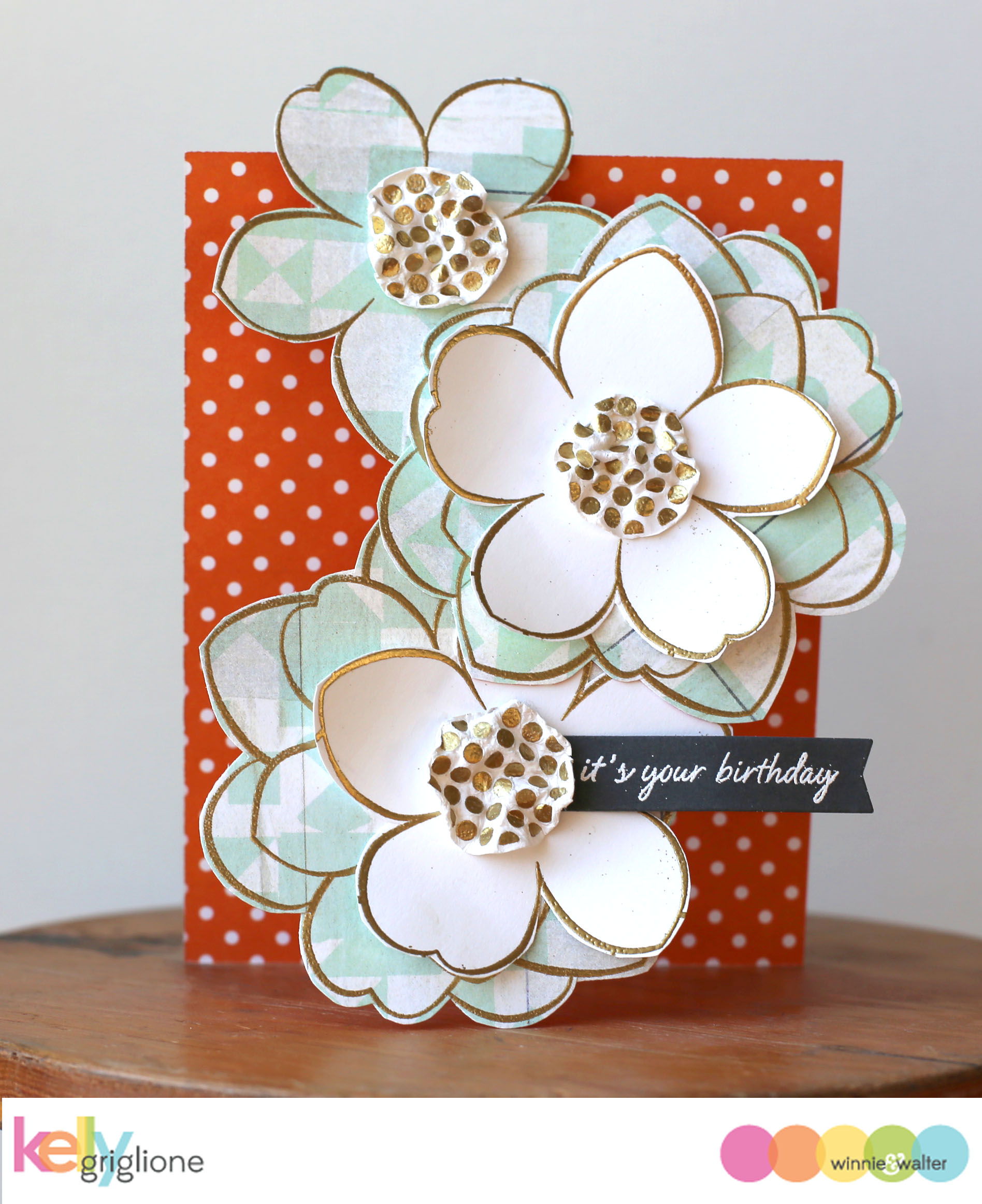 kelly_Simon Says Stamp Big Bloom 3D Flower Card