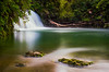 Waterfall, Lake & Me by xd.zain