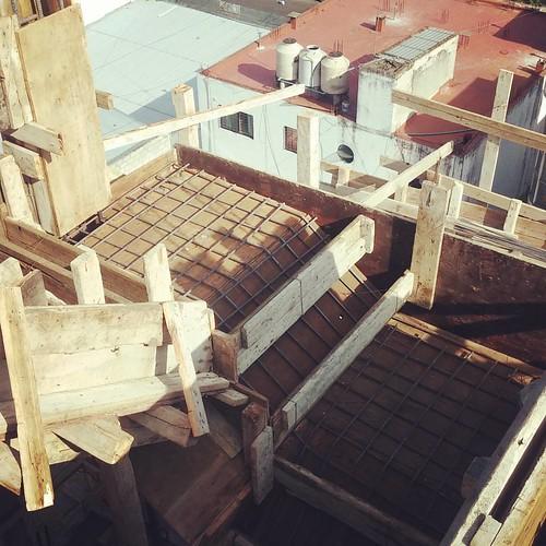 ROCA 1159. Detalle hierros de escalera