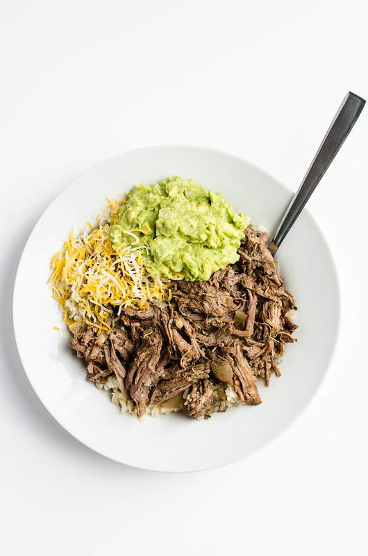 Slow Cooker Beef Barbacoa | cookingalamel.com