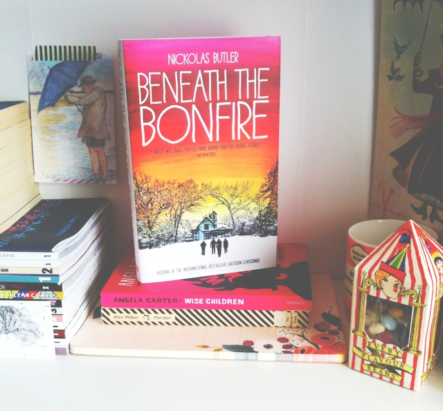 beneath the bonfire nickolas butler uk book blog