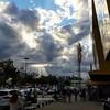Algo está a punto de suceder, el #findesemana está llegando #weekend #clouds #nuves #sky #cielo #iphone6 #iphonesia #instagood