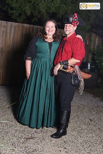 Pirate Fashion Photobooth St. Augustine Colonial Quarter
