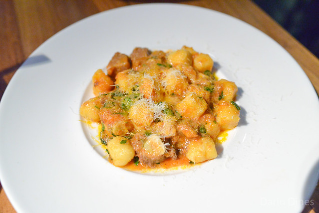 Gnocchi Romana beef tongue, tomato ragu, parmesan