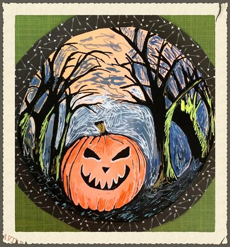 The case of the Pumpkin-head