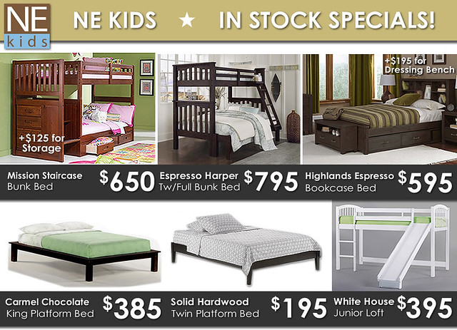 NE Kids In Stock Specials