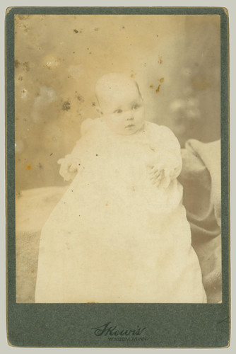 child in gown
