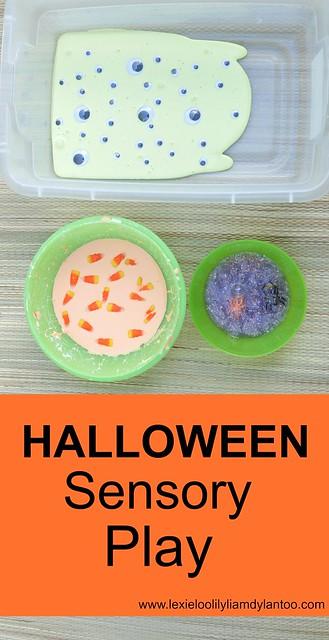 Halloween Sensory Play