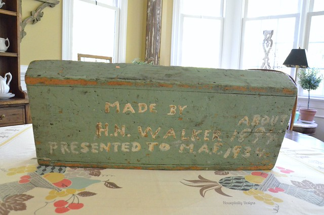 Antique Tool Caddy - Housepitality Designs