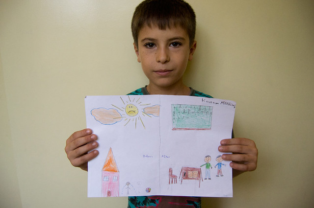 Lebanon: before and after displacement, through a Syrian child's eyes