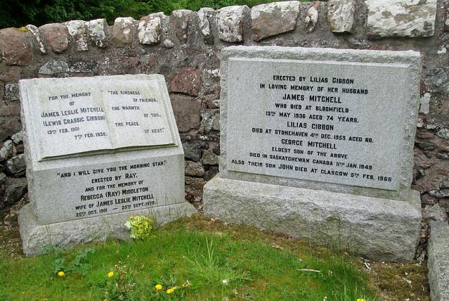 Lewis Grassic Gibbon's Memorial, Arbuthnott