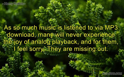 As so much music is listened to via MP3 download many will never experience the