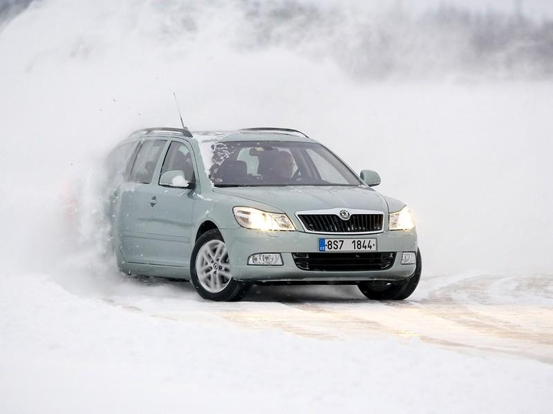 Полноприводная Škoda Octavia Combi 4x4 (1Z). 2008 – 2013 годы