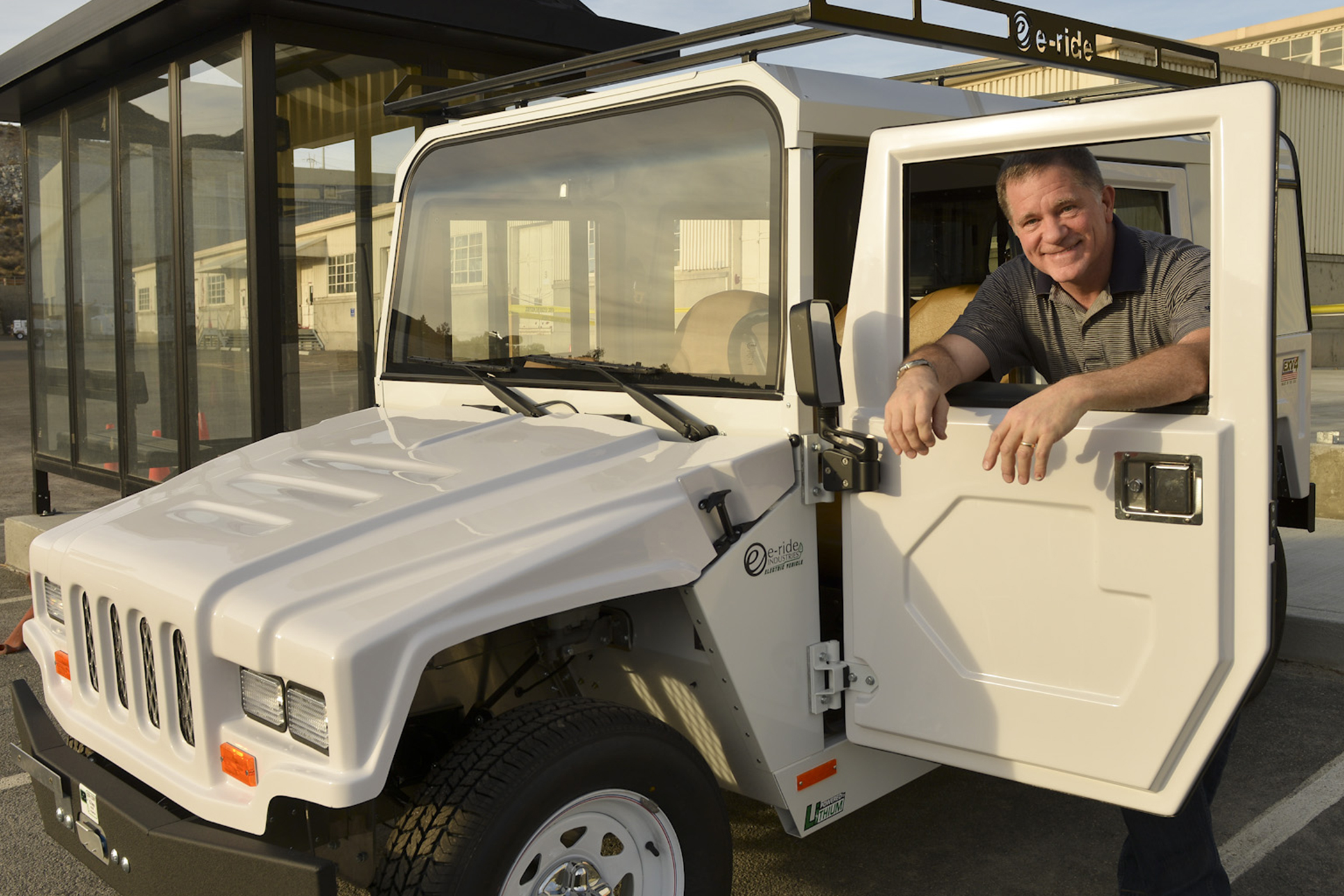 Deputy Power Manager Doug Anderson says the purchase of 27 Electric Utility Vehicles (EUV) this fall will not only help reduce greenhouse gas emissions but also help solve a chronic vehicle shortage for making short trips around the project.